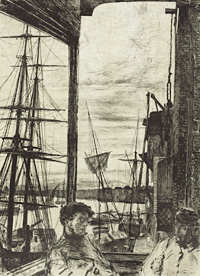 'Rotherhithe', 1860, Baltimore Museum of Art, 1996.48.7637