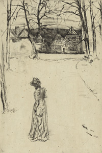 'Speke Hall: The Avenue', 1870/1878, Library of Congress, FP-XIX-W576, no. 96