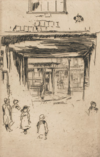 'Drury Lane', 1880/1881, National Gallery of Art, Washington, DC, 1943.3.8562